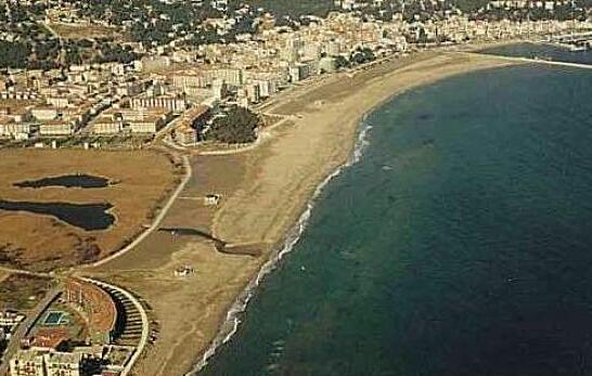 Playa platja estartit beach plage strand